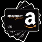 $25.00 Amazon Gift Card Icon