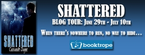 Shattered by Cassandre Dayne Blog Tour Icon