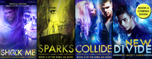 Shock Me Series Covers by Ashley Harris