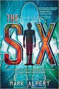 The Six Cover Art by Mark Alpert