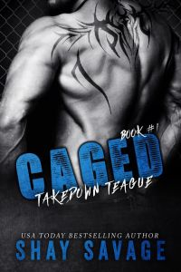 Caged by Shay Savage Cover