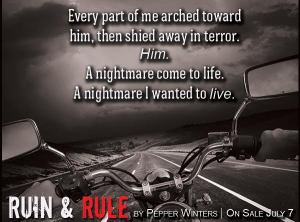 Ruin & Rule by Pepper Winters Main Book Tour Banner