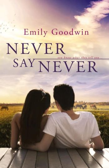 Never Say Never by Emily Goodwin Book Cover