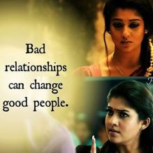 bad relationships can change good people